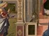 Carpaccio, Annunciazione, part. (SSPSAE-Ve, Archivio fotografico, Dino Zanella)